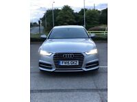 QUICKSALE WANTED AUTOMATIC AUDI A6 2015 PLATE DIESEL HPI CLEARE