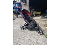 Double buggy/ pushchair o baby
