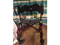 Disability walking aid with seat. £40 ONO