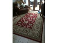 Two Persian Style Rugs - 200 cms (6.5ft) x 294 cms (9.6ft) Good Condition