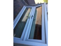 Double glazed patio door