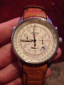 Genuine rotary chronospeed watch