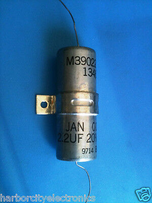 M3902208-1346 Military Standard 2.2uf 600v Jan Nsn 5910-01-171-5689