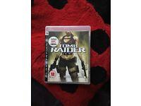 Bundle of PS3 Games - COD World At War, Tomb Raider Underworld, COD Ghosts
