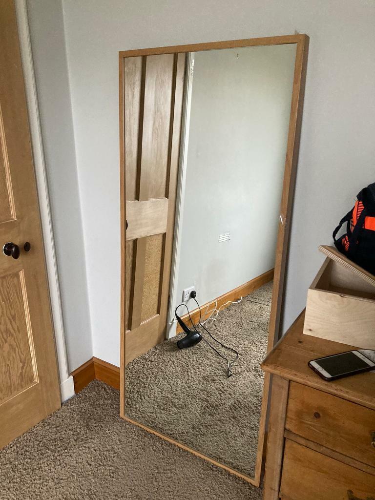 Large Mirror For Sale 160x63cm In Fairmilehead Edinburgh Gumtree