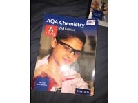 AQA CHEMISTRY A LEVEL TEXTBOOK RRP £42, SALE £30!!!