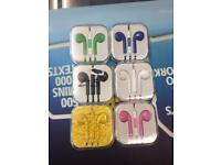 Earphones £5 each for Iphone Samsung htc