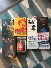 History/Politics books. Free to good home
