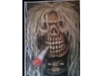 A4 prints for sale. Airbrush art. Art. Paintings. Murals