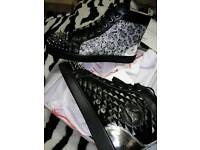 Mens Christian Louboutin NO NEW LIMIT sneakers. UK SIZE 9 not balenciaga Giuseppe zanotti