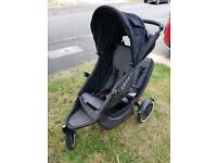 Phil & Teds Double Seat buggy with snug