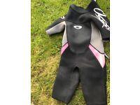 Child's osprey shorty wetsuit aged 6