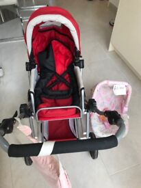 Children's Dolls Pram & Dolls Car Seat