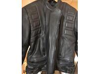 Belstaff Leather Jacket snug size 16
