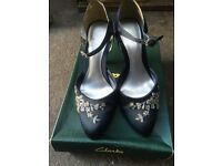 NAVY SEQUIN SHOES