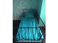 IKEA Metal framed Day Bed and single Mattress