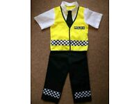 Smiffy's Police Costume Dress up 3-5 years