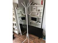 Ikea coat stand white