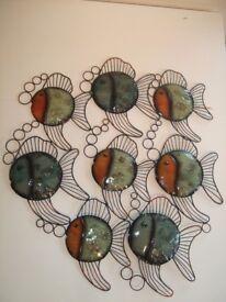 Fish Design Wall Hanging Decoration