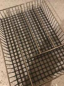 Black Stainless Steel Cutlery Tray (TK MAXX)