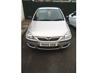 Silver Vauxhall corsa 1.0 good runner and ideal first car