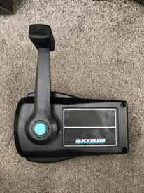 Quicksilver control box hardly used