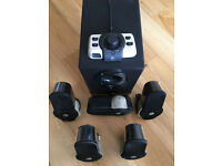 Set of Logitech G51 5.1 surround sound speakers, in great condition!