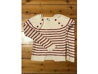 Girls sailor light knit for age 12