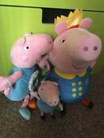 George pig teddy bundle props pig