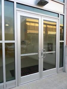 Commercial Entrance Doors and Storefront Doors Repairs - Hinges, Locks, Handles