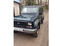 Daihatsu fourtrak 4x4 off road tow bar farm truck mot