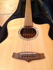 Tanglewood TVC Koa S Auditorium (Evolution Exotic range) - Electro Acoustic Guitar inc fitted case
