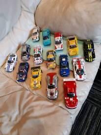 Scalextric rally cars @ Eddie Stoddard trucks