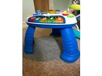 Children toddler play table free