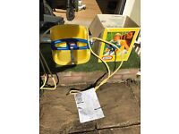 Little tikes baby seat for a swing. In yellow