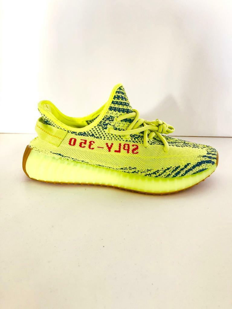 dff00527c21be Adidas Yeezy Boost 350 V2 Semi Frozen Yellow UK9