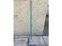 Hand garden rake