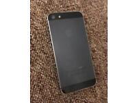 iPhone 5 with broken screen,m