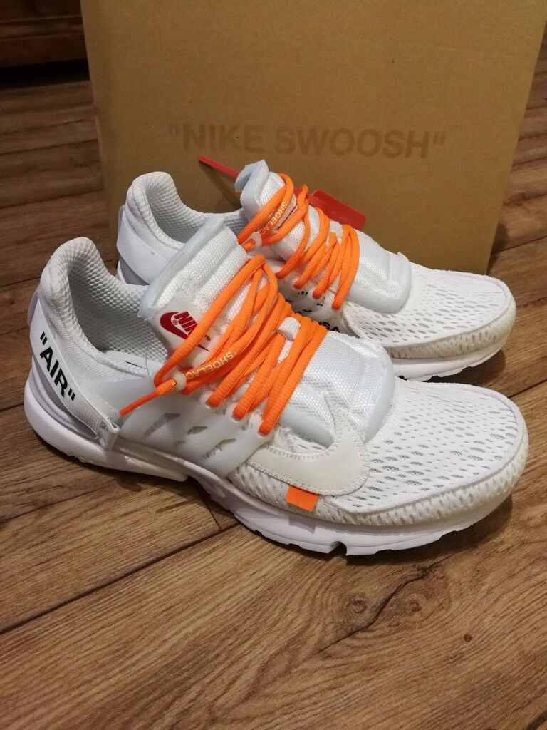bf212012f3a Nike Air Presto Off White mens shoes Size 11 The Ten Virgil Abloh The 10
