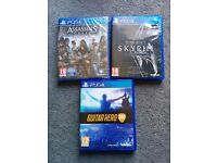 PS4 games (read ad)