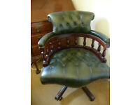 CHESTERFIELD CLASSIC SWIVEL CHAIR