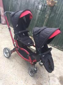 Obaby ABC Design Zoom Double Pushchair