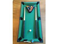 60cm mini pool/snooker table