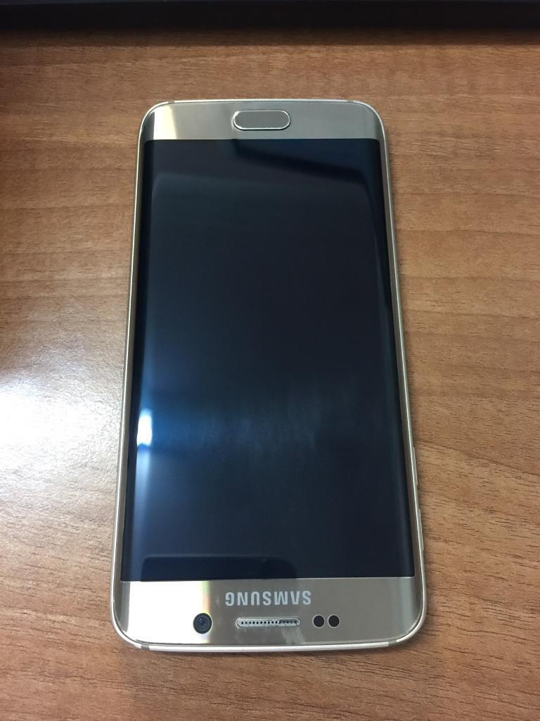 samsung galaxy s6 edge gold unlock on all network edge 6. Black Bedroom Furniture Sets. Home Design Ideas
