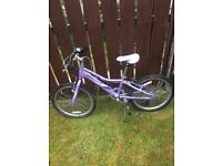 Girls Lilac Giant bicycle