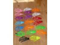 Skeleton Hands Hair Clips a Bulk Lot of 20 Great for Haloween and Decorations