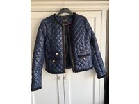 Juicy couture jacket with gold button details. Size L