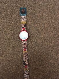 Kids swatch watch mickey mouse