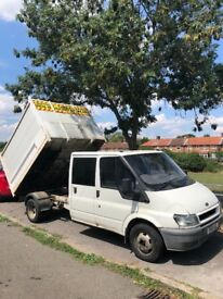 Ford transit tipper / Swap with recovery