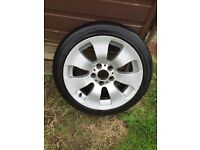 """BMW Alloys 17"""", 5 X 120 came off 335"""